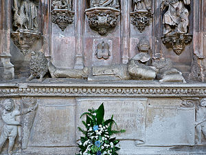 Sancho I of Portugal - Sepulchre of King Sancho I at the Monastery of Santa Cruz (Coimbra).
