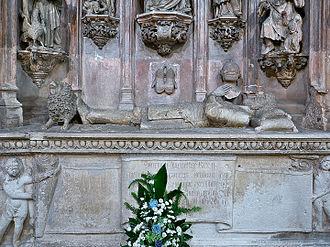 Sancho I of Portugal - Sepulchre of King Sancho I at the Monastery of Santa Cruz (Coimbra).