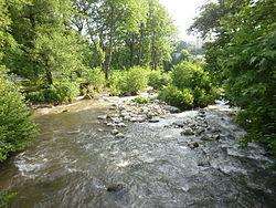 Sandanska Bistritsa River, Sandanski 2011.jpg