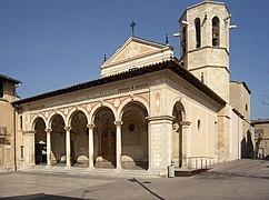 Reforma exterior de la iglesia de San Sadurní de Noya (1924)