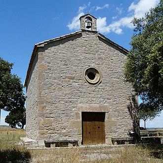 Sant Martí Sesgueioles - Church of St. Valentine, Vilallonga (1669)