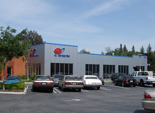A Typical AAA Car Care Plus Center