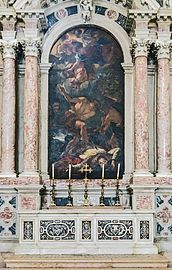 Santa Giustina (Padua) - Right nave - Chapel of saint Gerard Sagredo