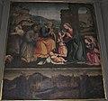 Santa elisabetta delle convertite, adorazione del bambino con veduta della città di fiesole protetta dai suoi santi vescovi.JPG