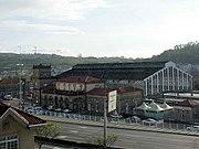 Train station in Santiago de Compostela