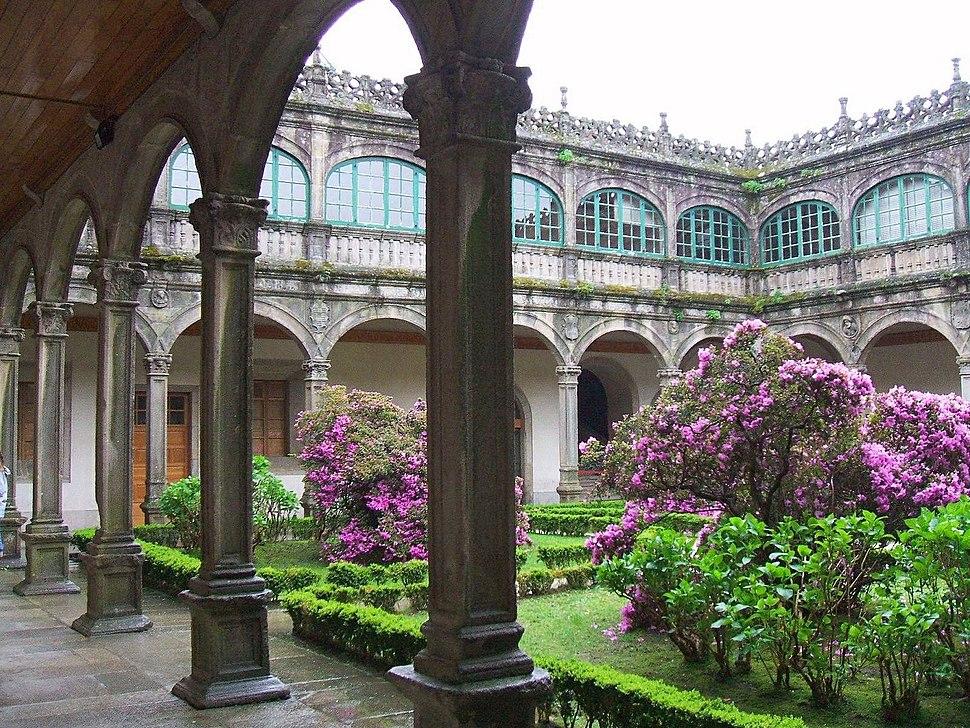 Santiago de Compostela - Colegio de Fonseca (o de Santiago Alfeo), Biblioteca General de la Universidad 1