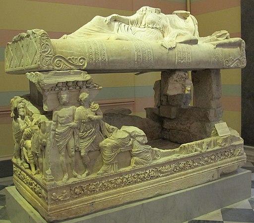 Sarcofago da myrmekion, attica, 150-200 dc.