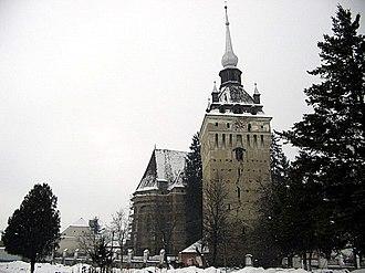 Saschiz fortified church - Image: Saschiz IMG 4702