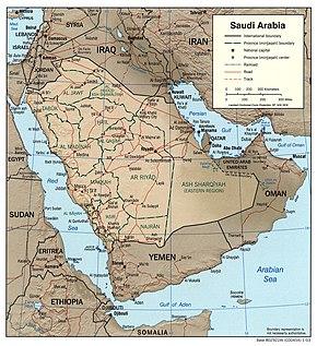 Geography of Saudi Arabia - Wikipedia