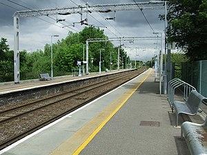 Sawbridgeworth railway station - Sawbridgeworth railway station in 2010