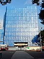 Scaffolding of Chien Cheng Building demolition engineering 20170909.jpg
