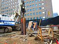 Scanning the excavation of a TTC elevator, median of University at Dundas, 2017 06 06 -f (34332581764).jpg