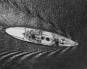 SMS Schlesien - Schlesien in the Panama Canal in 1937
