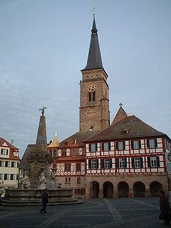 Schwabašská radnice a kostel