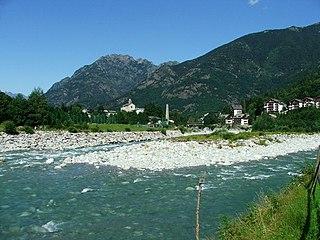 Scopello Comune in Piedmont, Italy