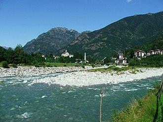 Scopello - Scopello and the river Sesia
