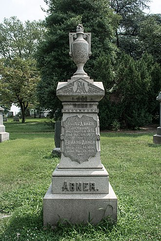 Jacques Jouvenal - Image: Sculptor Jacques Jouvenal monument section Circle Right North Prospect Hill Cemetery 2014