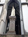 Sculpture of Saint Mary in front of Oura Church.jpg