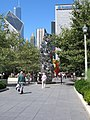 Sculpture on Millennium Park.jpg