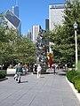 Sculpture on Millennium Park.jpg