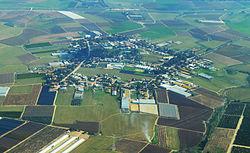 צילום אוויר של שדה משה
