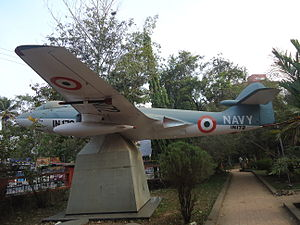 Sea Hawk Plane Changampuzha Park Edappilly.JPG