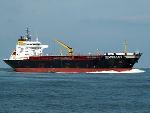 Seamullet p2 approaching Port of Rotterdam, Holland 12-Mar-2006.jpg