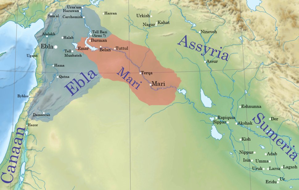 The second kingdom during the reign of Iblul-Il