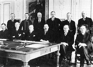 Moderate Party - The Second cabinet of Arvid Lindman in 1928