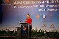 Secretary Clinton at ASEAN Business Investment Summit (6358250163).jpg