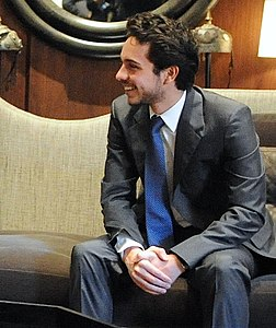 Secretary Kerry Meets With King Abdullah II, Crown Prince Hussein (11776652546) (cropped).jpg