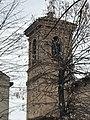 Segni di spezzonamenti sul campanile di Ospizio.jpg