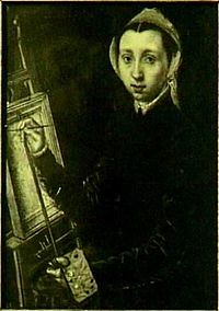 Self-portrait by Catharina van Hemessen Michaelis Collection.jpg
