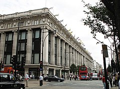 Dom towarowy Selfridges i Oxford Street