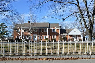 National Register of Historic Places listings in Wicomico County, Maryland - Image: Senator Jackson house site in Salisbury