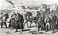 Sephardi Jews fleeing from Belgrade to Zemun in 1862.jpg