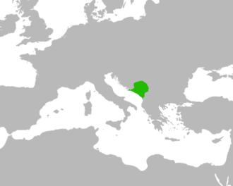 Principality of Serbia (medieval) - Serbia, during the rule of Časlav (927–960)