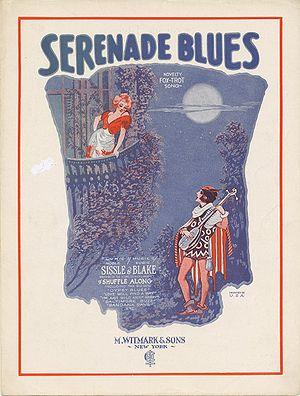 """""""Serenade Blues"""" (sheet music) page ..."""