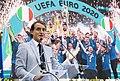Sergio Mattarella meets Italy national football team and Matteo Berrettini (12 July 2021) 29.jpg