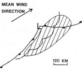 Derecho - A typical multi-bow serial derecho