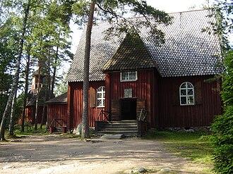 Sauvo - Image: Seurasaari Karunan kirkko