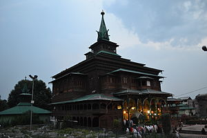 Noorbakshia Islam - Khanqah Shah Hamdan Srinagar, Kashmir was an important centre of Noorbakshi Muslims in Kashmir for many centuries.