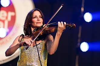 Sharon Corr - Sharon Corr performs at the 2012 Brussels Summer Festival.