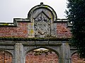 Shelley Pavilion, Easton Lodge Gardens, Little Easton, Essex, England ~ coat of arms.jpg