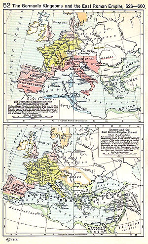 Byzantine navy - By the late 5th century, the Western Mediterranean had fallen into the hands of barbarian kingdoms. The conquests of Justinian I restored Roman control over the entire sea, which would last until the Muslim conquests in the latter half of the 7th century.