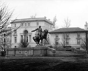 General Philip Sheridan - Sheridan memorial in 1916