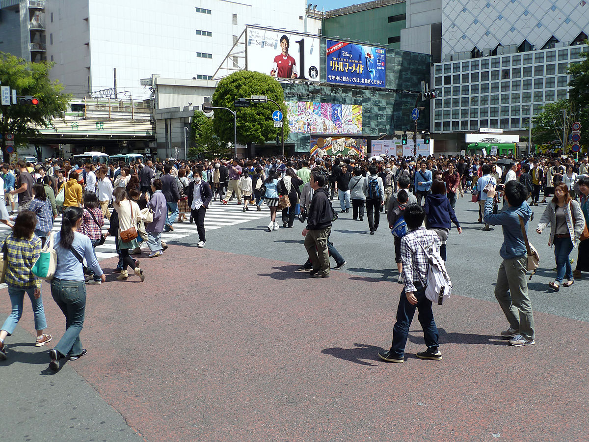 Shibuya Crossing1