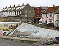 Shipwreck mural on sea wall - geograph.org.uk - 1091533.jpg