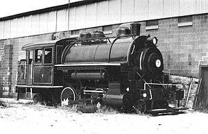 Berlin Mills Railway 7 - Ca. 1991 in Bellows Falls, VT