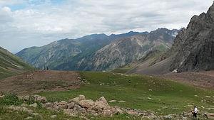 Shymbulak - Shymbulak in summer.
